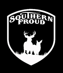 Southern Proud Window Decal Southern South Life Confederate Sticker Cracker Ebay