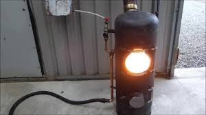 fantastic output waste oil burner