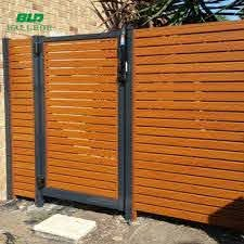 Garden Wooden Horizontal Privacy Fence Slats Strips View Wooden Fence Slats Bld Product Details From Ballede Shanghai Metal Products Co Ltd On Alibaba Com