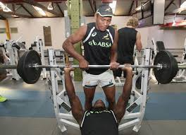south africa sevens gym session