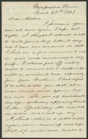 Letter from William Parker Johnson to Adela Johnson, March 29 ...