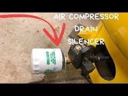 air compressor silencer made out of