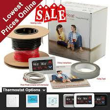 under floor heating cable kit for tile
