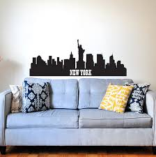 New York City Wall Decal Sticker Decals Market