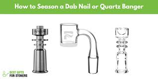 how to season a dab nail safely quartz