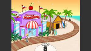 Game vui cho bé : Papa's Freezeria (Nhân viên bán kem) 2