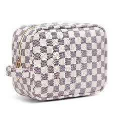 daisy rose luxury checd make up bag