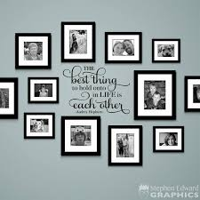 hold onto in life is each other decal