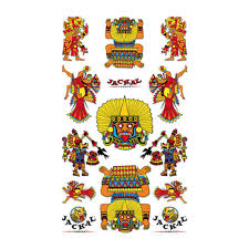 Awesome Aztec Sticker Decals Maximum Velocity