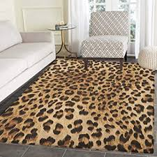leopard print rug kid carpet skin