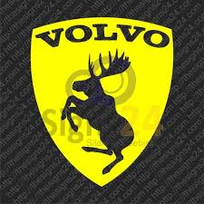 Volvo Moose Stickers Badges Self Adhesive Stickers Car Sticker Decal
