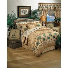 tropical bedding palm tree comforters