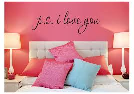 P S I Love You Inspirational Wall Decal American Wall Decals