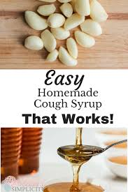 easy homemade cough syrup blessed