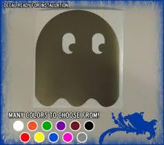 4 Pinky Blinky Inky Or Clyde Vinyl Sticker Pac Man Ghost Car Window Decal Retro Ebay