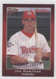 1998 Multi-Ad Sports Columbus RedStixx - [Base] #23 - Jon Hamilton