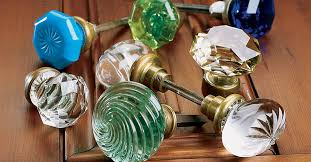 the beauty of glass door knobs this