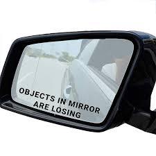 inch rearview mirror 1pc car sticker