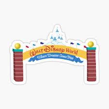 Disney Parks Stickers Redbubble