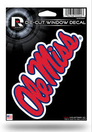 College Ncaa Mississippi Ole Miss Rebels Ncaa Color Die Cut Decal Sticker Free Shipping Sports Mem Cards Fan Shop Cub Co Jp