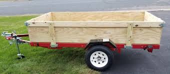 Harbor Freight Folding Trailer Box With Removable Sides Third Stall Woodworking