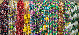 mardi gras beads party supples