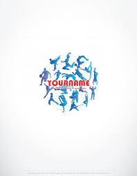 exclusive design fitness sport logo