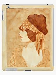 """Evelyn Brent"""" iPad Case & Skin by Nordiclynx 