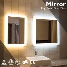 apartment bathroom led mirror led