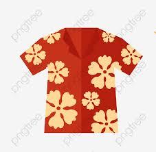 Camisa Hawaiana Pintado A Mano Hawaii Vacaciones Png Y Psd Para