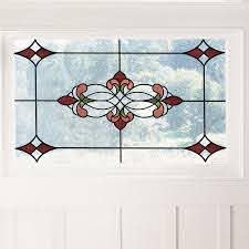Fleur De Lis Living Stained Glass Window Decal Wayfair
