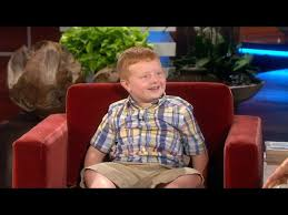 Apparently Kid Noah Ritter goes on Ellen, refuses to say 'apparently'    indy100