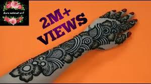 mehndi design arabic hand