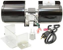 fk23 fireplace blower fan kit for heat