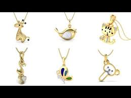 gold pendant designs for kids gold