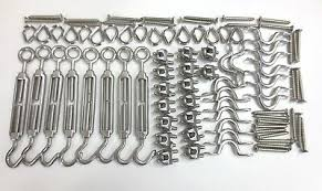 Wire Balustrade Bunnings Complete Project Kit Stainless Steel G 316 Ebay