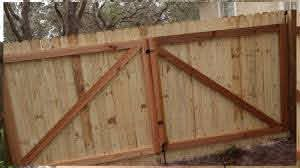 How To Build A Gate For A Wooden Fence Youtube