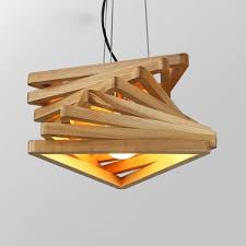 wood pendant lamps add some nature