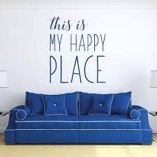 Inspirational This Is My Happy Vinyl Decor Wall Decal Customvinyldecor Com