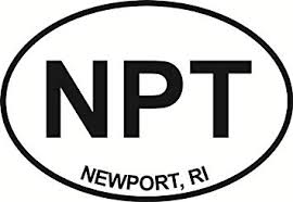 Amazon Com Newport Npt Euro Oval Bumper Sticker Automotive