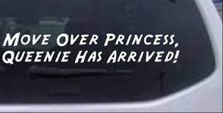 Queenie Has Arrived Car Or Truck Window Decal Sticker Rad Dezigns