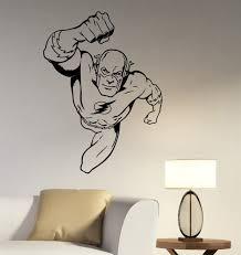 Flash Wall Decal Vinyl Sticker Marvel Comics Superhero Art Etsy
