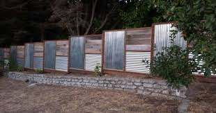 Fence Designs With Tin Roofing Corrugated Metal Fence Panels Fence Design Corrugated Metal Fence Metal Fence Panels