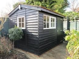 superior garden shed in south london