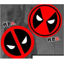 Deadpool Car Decal Sticker Black Mask Car Accessories Accessories On Carousell