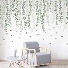Foliage Branch Leaves Wall Stickers Vinyl Decal Home Office Decor Art Mural Diy Ebay