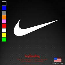Nike Air Swoosh Vinyl Decal Logo Car Window Sticker Phone Michael Jordan Sport