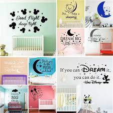 Free Shipping Good Night Sweet Dream Dream Big Vinyl Wall Art Sticker Decal For Kids Room Bedroom Girls Room Home Decor Aliexpress