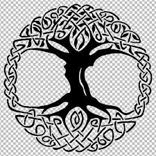 Celtic Tree Of Life Vinyl Sticker Decal Ebay