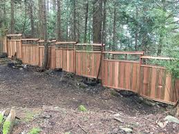 Bamboo Garden Fence Thuja Wood Art